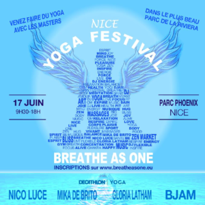 Festival du yoga Breathe as one @ Parc Phoenix