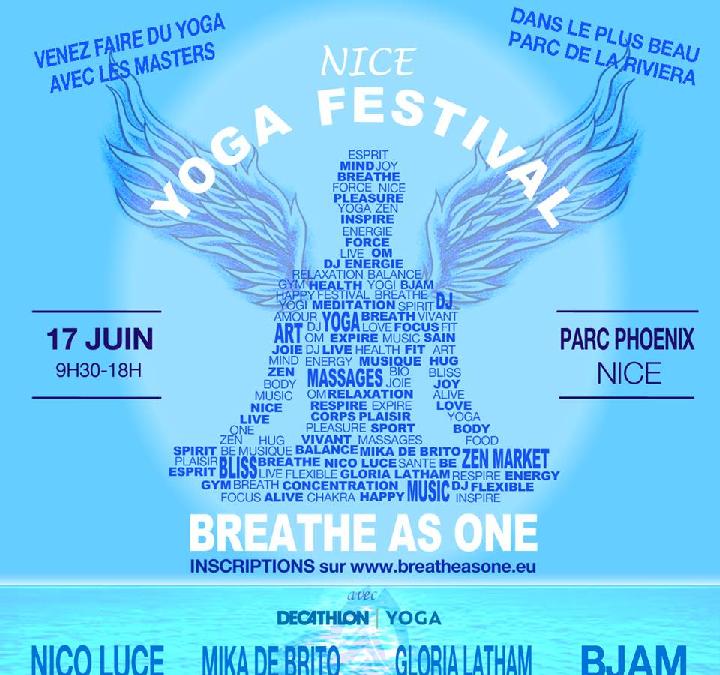 Festival du yoga Breathe as one