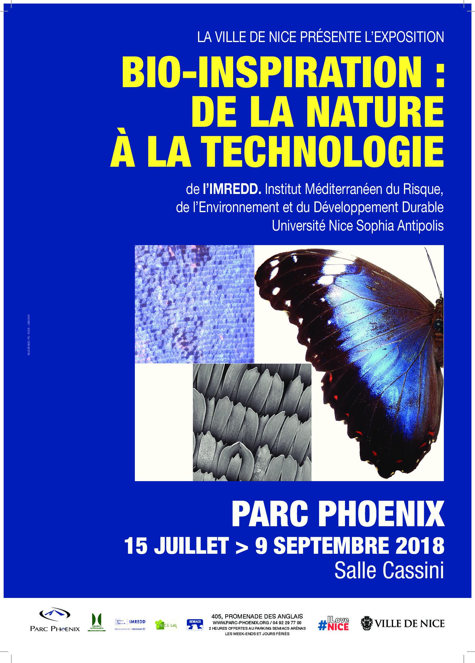 Exposition : Bio inspiration – De la nature à la technologie