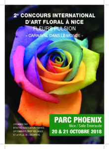 2ème concours international d'art floral @ Salle Emeraude