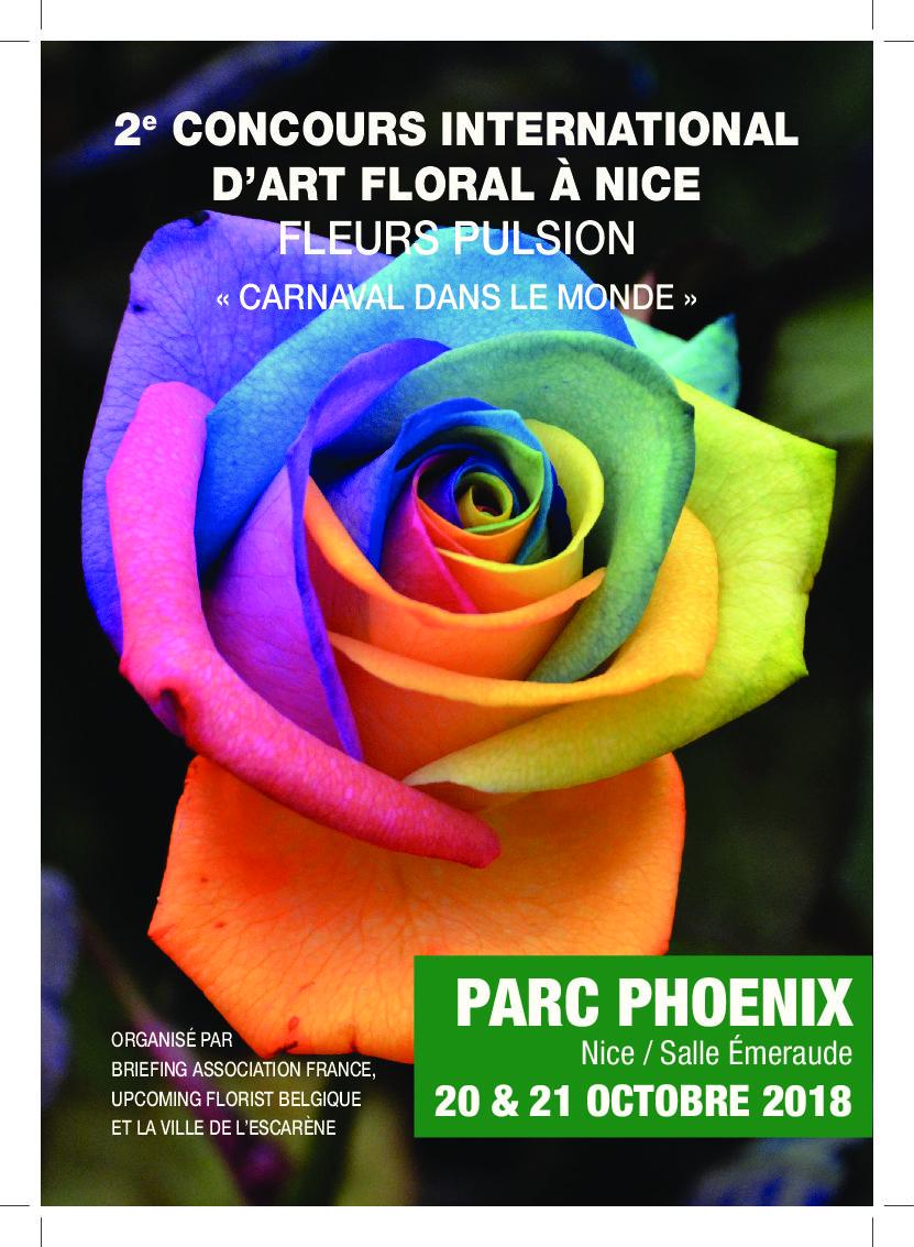 2ème concours international d'art floral