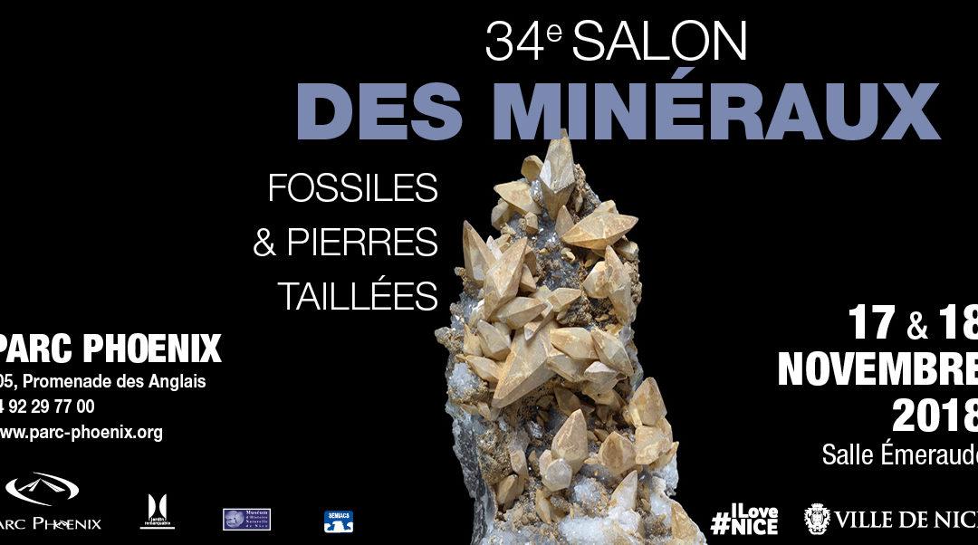34ème SALON MINERAUX, FOSSILES, PIERRES TAILLEES