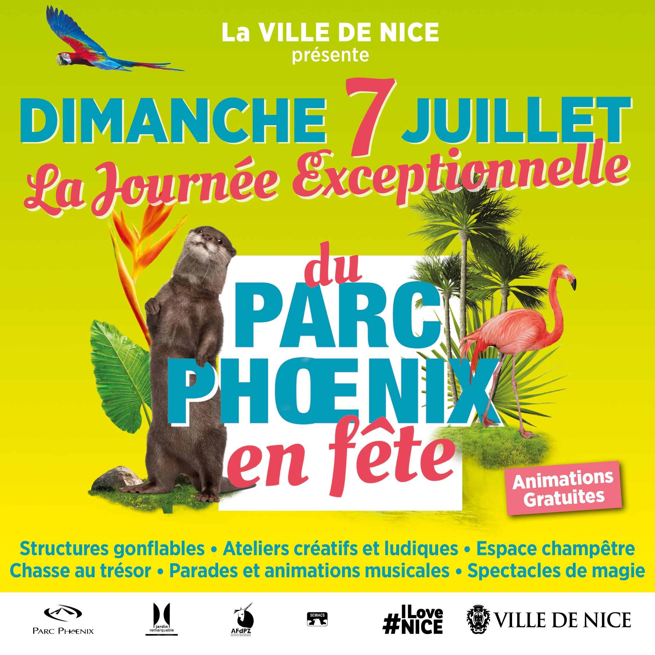 La journée exceptionnelle du Parc Phœnix en fête !